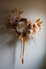 Dried Wreath - Autumnal