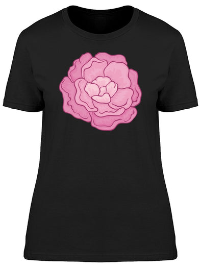 Blossoming Peony Flower Tee Women's -Image by Shutterstock