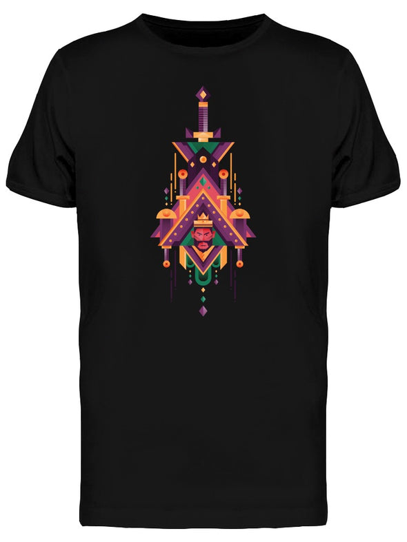 Angry King Ethnic Style Tee Men's -Image by Shutterstock