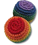7 Chakras - Rainbow Hacky Sacks / Stress Balls