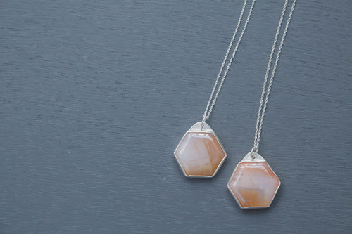Hex Drop Pendant