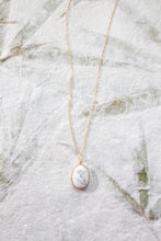 Load image into Gallery viewer, Gold Filled Howlite Pendant