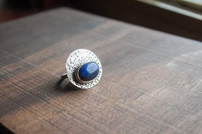Oval Stamp Ring