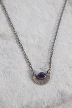 Load image into Gallery viewer, Amethyst Burst Necklace
