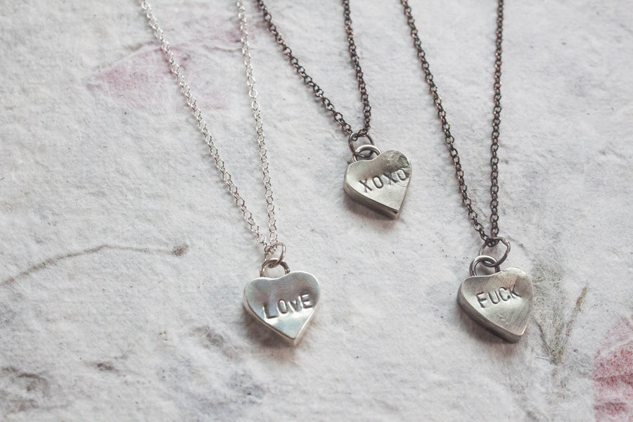 Candy Heart Pendant