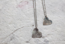 Load image into Gallery viewer, Heart Message Necklace