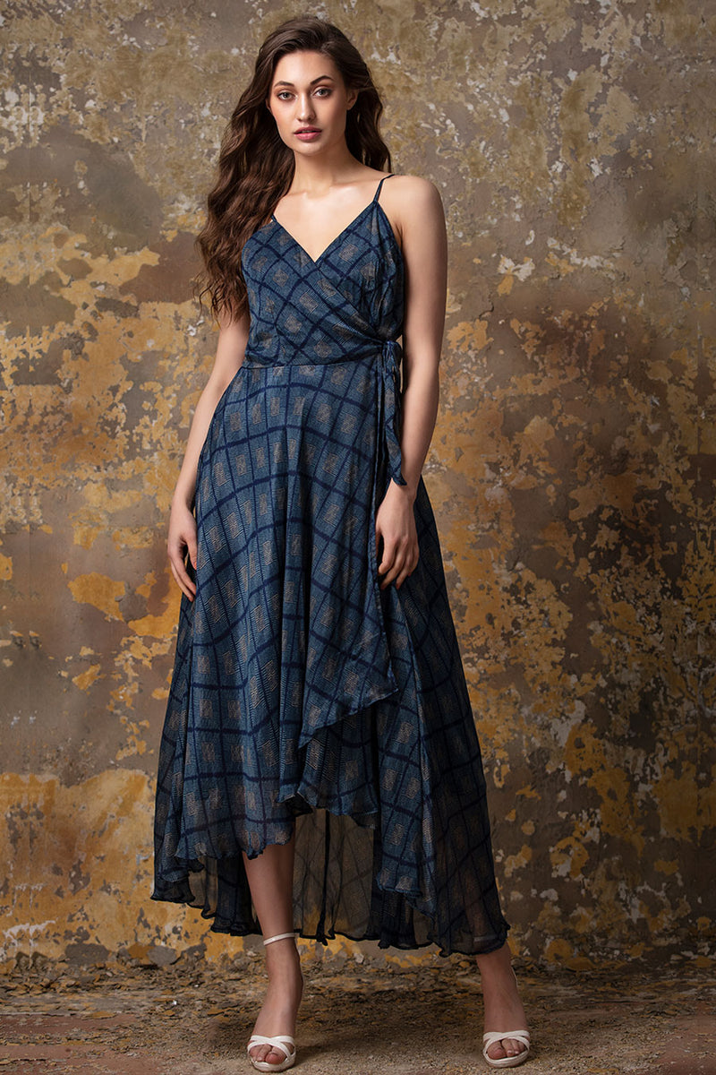 Wraparound Dress | koashee by shubhitaa