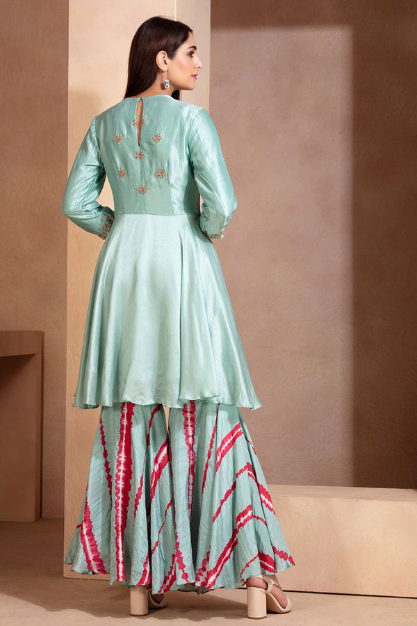 Festive Tunic and sharara set
