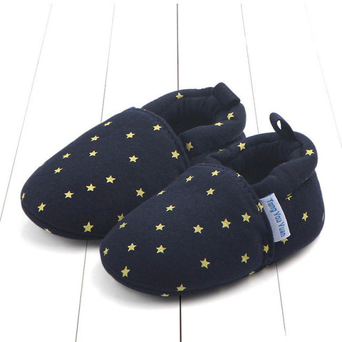 Starry Night Baby Loafers