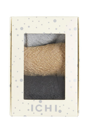 Glitzersocken 3er Set Ichi - anikoo Interior and Lifestyle Conceptstore