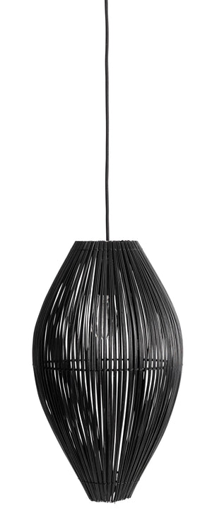 Lampe Fishtraps gross M schwarz Muubs