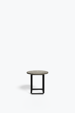 Florence Coffee Side Table Ø50- Gris du Marais New Works