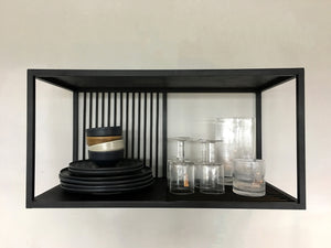 Wandregal Denver Eisen schwarz Muubs - anikoo Interior and Lifestyle Conceptstore