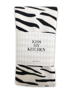 Küchen-Handtuch Soft Cotton Wild schwarz Kiss my Kitchen - anikoo Interior and Lifestyle Conceptstore