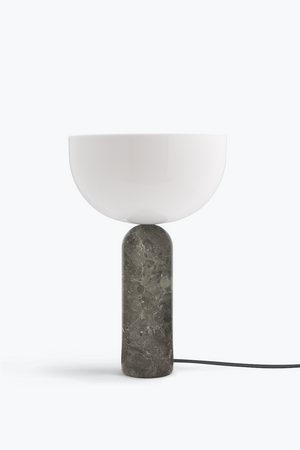 Kizu Table Lamp Marmor grau/beige groß New Works