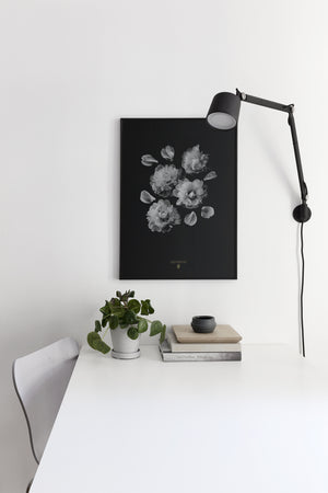 Poster Wandbild Paeonia Officinalis - anikoo Interior and Lifestyle Conceptstore