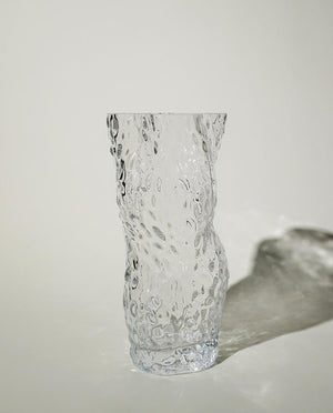 Ostrea ROCK GLASS Vase clear HEIN Studio