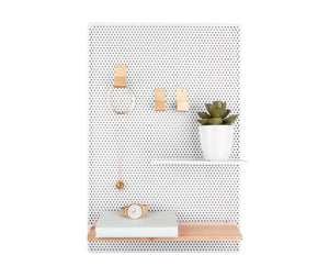 Memoboard Mesh Eisen weiß Present Time - anikoo Interior and Lifestyle Conceptstore