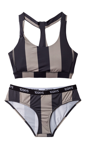 Bikini Yoga-Set Stripes 10days - anikoo Interior and Lifestyle Conceptstore
