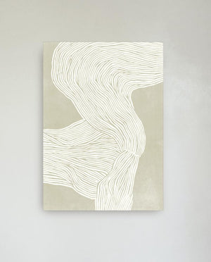 Print THE LINE no. 08 / beige 50 X 70 cm HEIN Studio