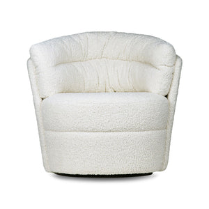Drehsessel Fauteuil creme HK Living