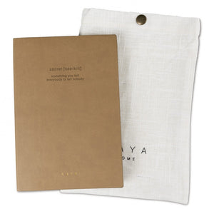"Notizbuch ""Secret"" YAYA Home - anikoo Interior and Lifestyle Conceptstore"