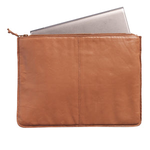 PC Cover Tasche Leder cognac Muubs - anikoo Interior and Lifestyle Conceptstore