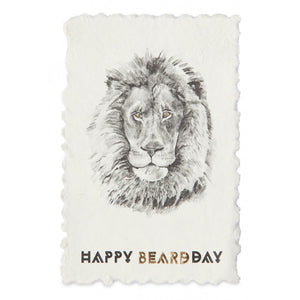 Postkarte 'Happy Beardday' - anikoo Interior and Lifestyle Conceptstore