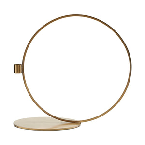 Kerzenständer Cirque rund brass H33 cm House Doctor - anikoo Interior and Lifestyle Conceptstore