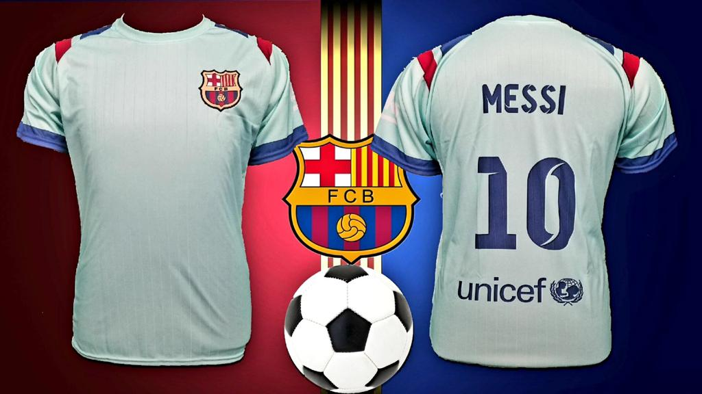 outlet store 70c72 66679 Limited Edition Barcelona Messi Purple Home Jersey Men Regular Fit