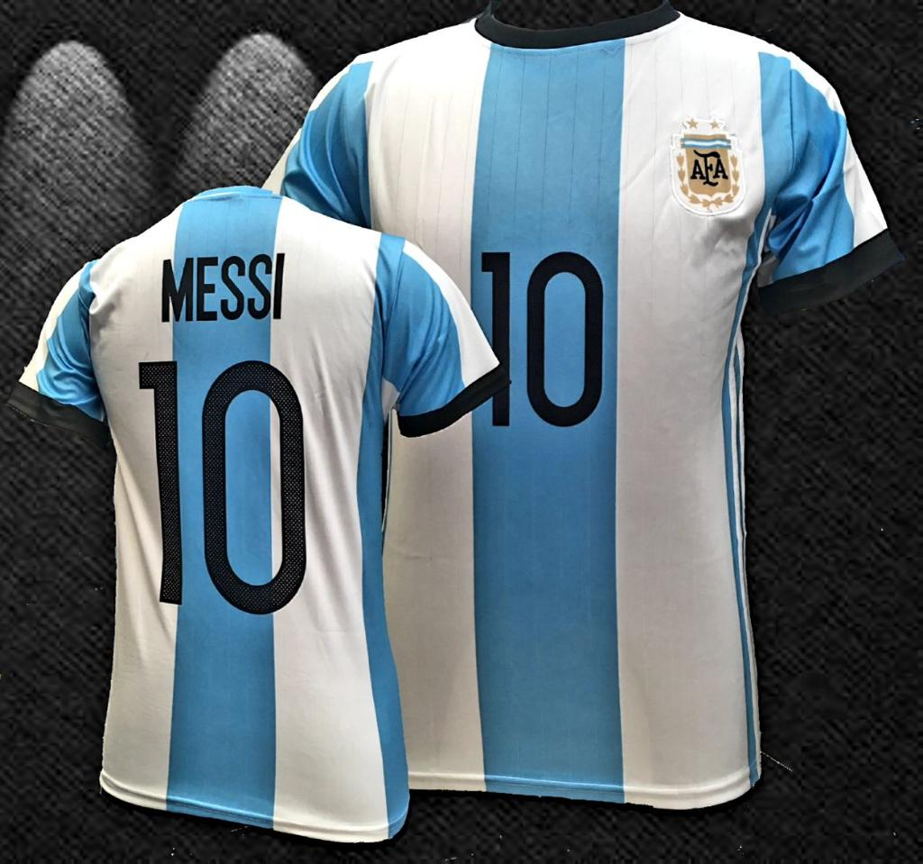 new arrival 67b40 60265 Argentina Home Messi World Cup Men Jersey 2018-2019