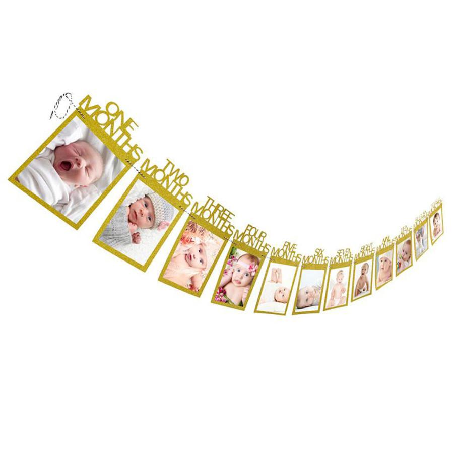 My Baby 1-12 Months Photo Holder