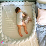 Marshmallow Knot - The Ultimate Crib Bumper Pillow