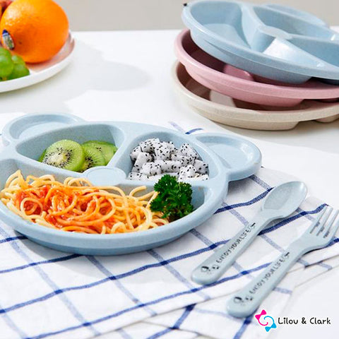 Happy Yum Yum™ - 3 Pieces Baby Tableware
