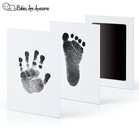 Stainless Inkpad™ - The Ultimate Baby Footprint Pad