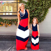 Stripy Dress for Mommy and Me