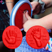 My Tiny Print™ - Memorabilia Baby Hand and Feet Claypad