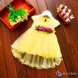 Floral Summer Baby Girl's Formal Dress