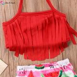 Baby Tassel Swimwear Set