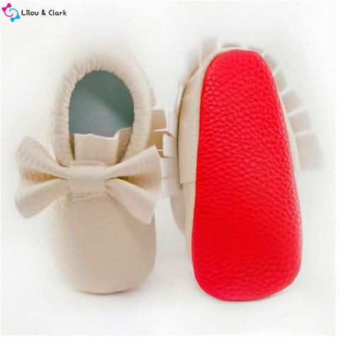 Image of Tasselmania Baby Moccasins
