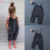 Comfy Toddle Girl's Jumpsuit