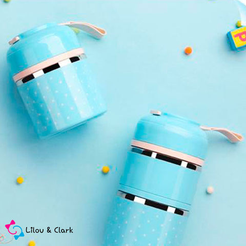 Mini & Cute™ - The Convenient Multi-Layered Lunch Box