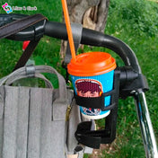 Stroll-n-Sip™ - The Universal Stroller Cup Holder