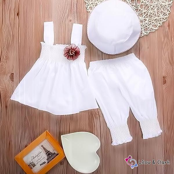 Baby Girl's Princess Summer Outfit