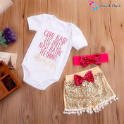 Babylife Baby Girl's Summer Outfit