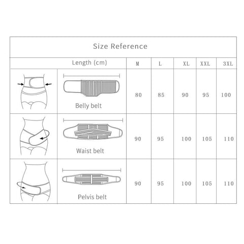 Image of Wonder Belt™ - The Amazing Pregnancy Postpartum  Maternity Belt Combo