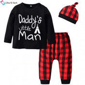 Daddy's Man Boy's Set