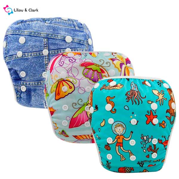 No Mess Baby Swimming Diapers - Special Offer Buy 2 Get 1 Free