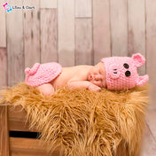 Miss Piggy Baby Girl's Photography Outfit