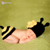 Bee Newborn Crochet Photography Outfit